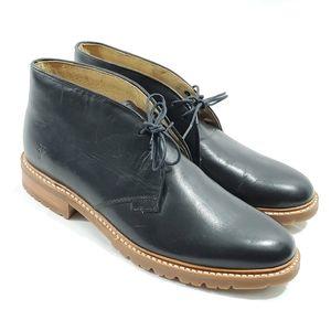 Frye Leather Chukka Boots, Men's Size 9.5D Black